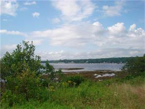 build that dream home in Maine on the ocean - oceanfront lot for sale in Searsporth Maine