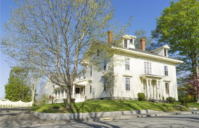 Stockton Springs, Maine Real Estate Listing - N.G. Hichborn House