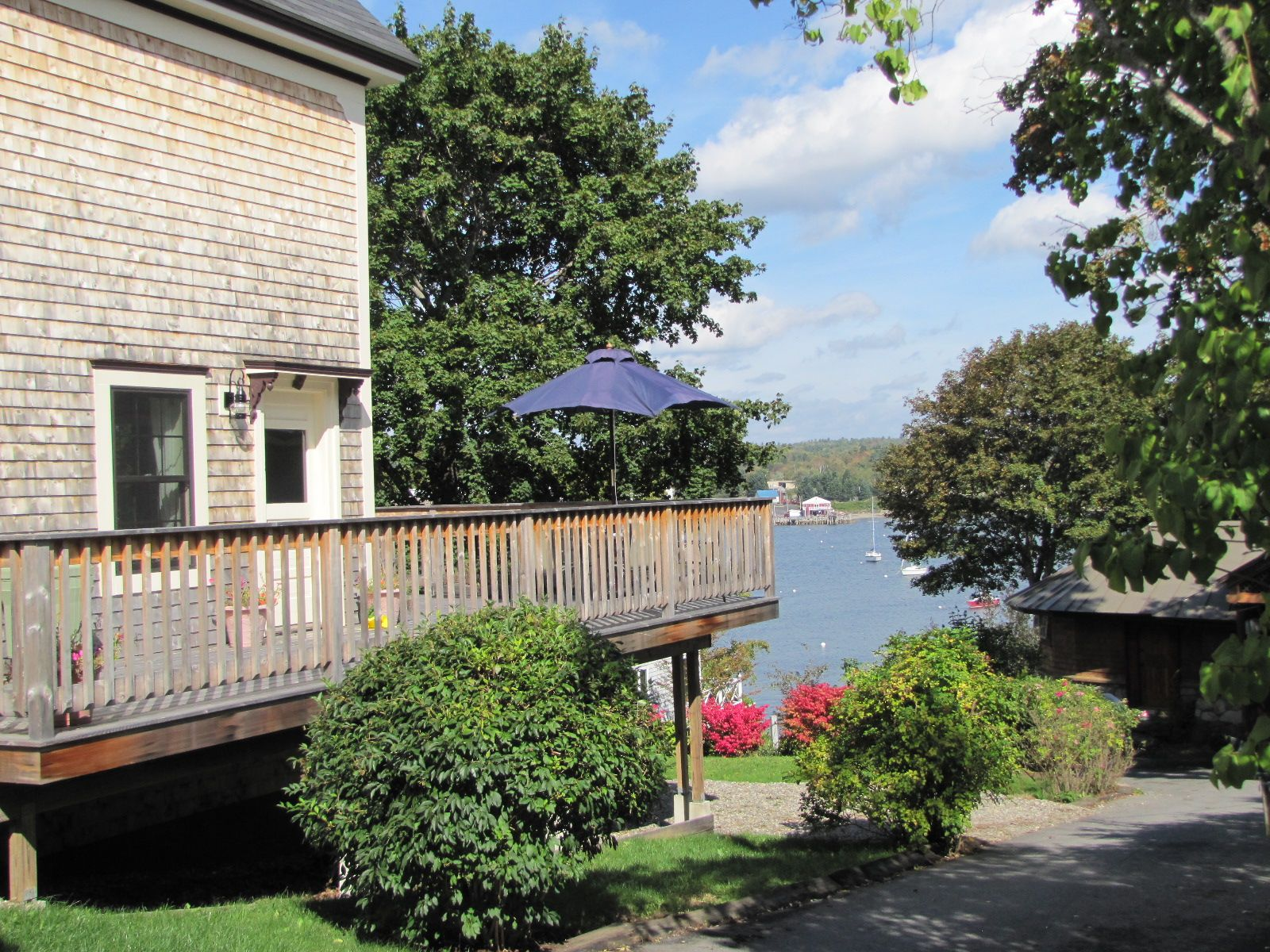 Real Estate Listing - Belfast Maine - Intown home with views of the harbor in Belfast, Maine