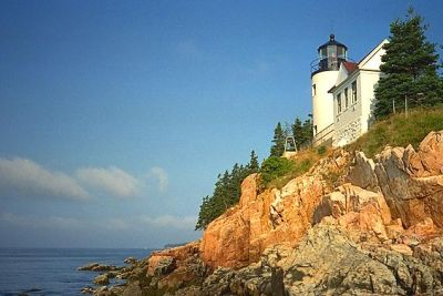 Bass Harbor Light, located within Acadia National Park on Mt. Desert Island, is one of the the most photogenic lights on the east coast of the United States - CoastWise Realty on Belfast Harbor in Maine